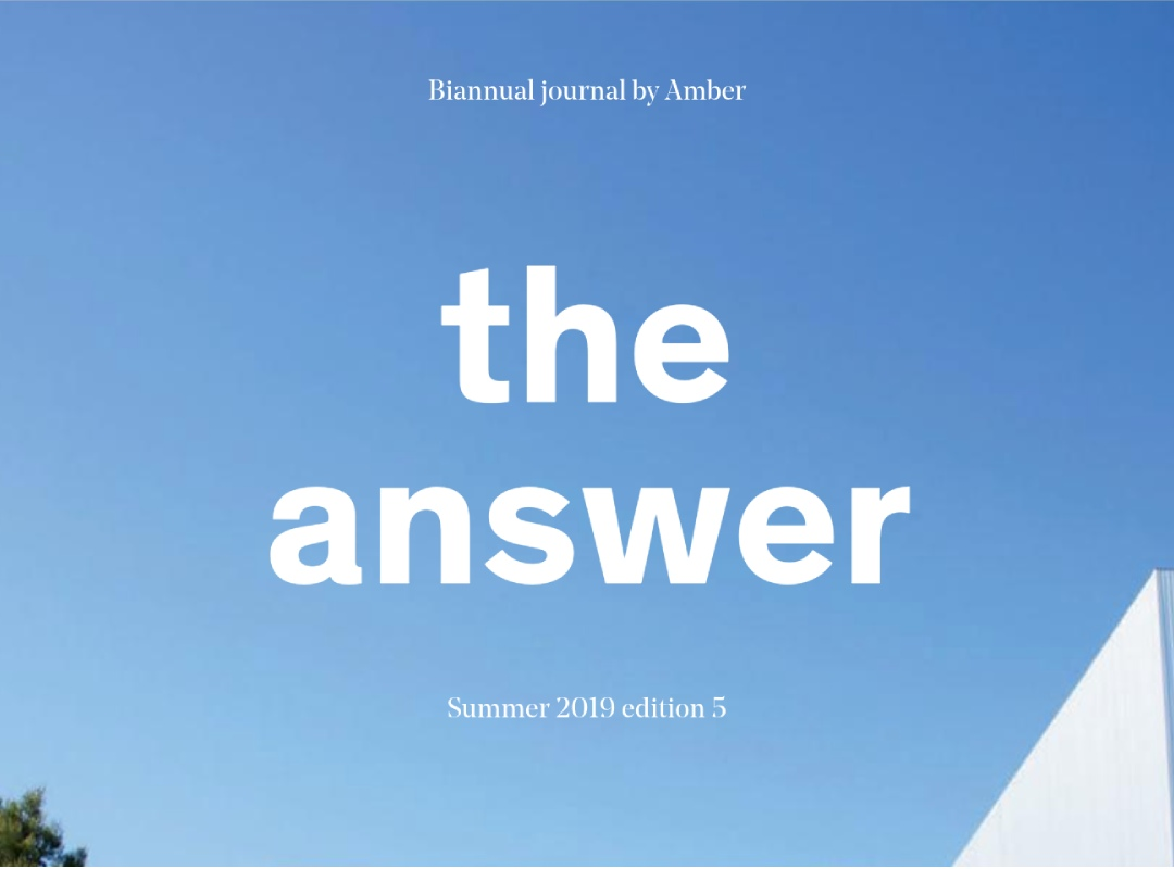 The Answer - Spring/Summer edition 5